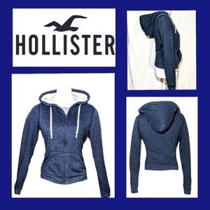 Women's Hollister zip up Hoodie